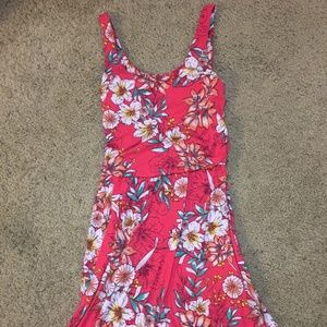 FADED GLORY dress — Pink, Tropical Floral Dress